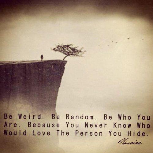 be-weird