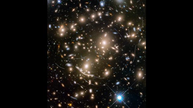 Asteroids in Hubble Frontier Field Abell