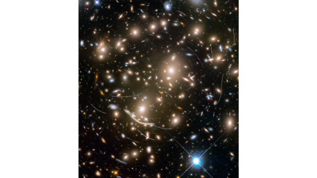 Asteroids in Hubble Frontier Field Abell