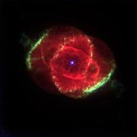 Gaseous Cocoon Around a Dying Star 29.011.95